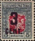 [Definitives Surcharged, type AO14]