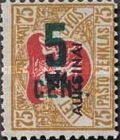 [Definitives Surcharged, type AO26]