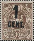[Definitives Surcharged, type AO4]