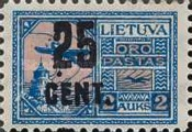 [Airmail Surcharged, type AP6]
