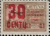 [Airmail Surcharged, type AP7]