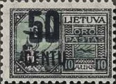 [Airmail Surcharged, type AP9]