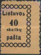 [Second Vilnius Printing - Thick Value Figures, type B4]