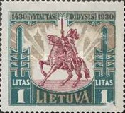 [The 500th Anniversary of the Death of Vytautas the Great, type BU]