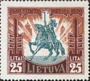 [The 500th Anniversary of the Death of Vytautas the Great, type BU4]