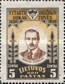 [Airmail - The 500th Anniversary of the Death of Vytautas, type BV]