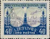 [Airmail - The 500th Anniversary of the Death of Vytautas, type BW1]