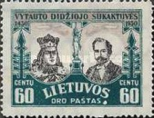 [Airmail - The 500th Anniversary of the Death of Vytautas, type BX]
