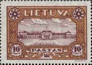 [Lietuvos vaikas - Lithuanian Child. Also as Imperforated with same price, type BY1]