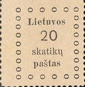 [First Kaunas Issue, type C2]