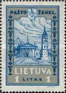[Lietuvos vaikas - Lithuanian Child. Also as Imperforated with same price, type CA1]