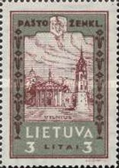 [Lietuvos vaikas - Lithuanian Child. Also as Imperforated with same price, type CA2]