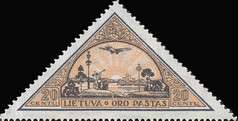 [Lietuvos vaikas - Lithuanian Child. Also as Imperforated with same price, type CD1]