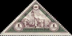 [Lietuvos vaikas - Lithuanian Child. Also as Imperforated with same price, type CF]