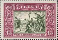 [Lietuvos vaikas - Lithuanian Child. Also as Imperforated with same price, type CH]