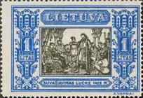 [Lietuvos vaikas - Lithuanian Child. Also as Imperforated with same price, type CJ]