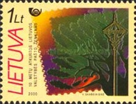 [The 10th Anniversary of the First Stamps of Independent Lithuania, type NW]