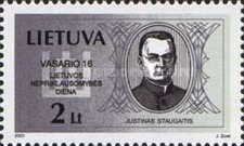 [The Anniversary of Independence of the Lithuania, type OK]