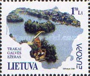 [EUROPA Stamps - Water, Treasure of Nature, type OO]