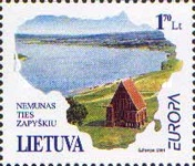 [EUROPA Stamps - Water, Treasure of Nature, type OP]