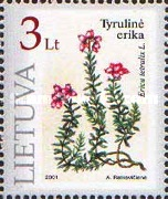 [The Red Book of Lithuania - Plants, type OR]