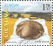 [EUROPA Stamps - Gastronomy, type TB]