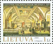 [The 150th Anniversary of Lithuanian National Museum, type TC]