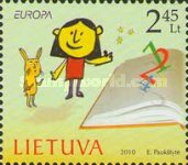 [EUROPA Stamps - Children's Books, type ZL]