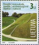 [World Heritage - Archaeological Site of Kernave, type ZT]