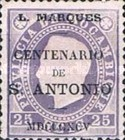 [Mozambique Stamps of 1886 Overprinted
