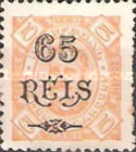 [Issue of 1895 Surcharged, Typ H1]