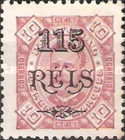 [Issue of 1895 Surcharged, Typ H4]