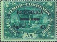 [Timpor Postage Stamps Surcharged & Overprinted