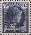 [Great Duchess Charlotte - Postage Stamp of 1935 Overprinted