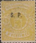 [Postage Stamps of 1875-1879 Overprinted