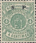 [Postage Stamps of 1875-1879 Overprinted Thick