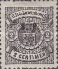 [Postage Stamps of 1880 Overprinted Thick