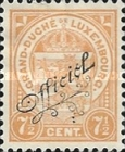 [Coat of Arms - Postage Stamp of 1919 Overprinted