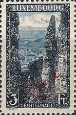 [Postage Stamps of 1921-1923 Overprinted