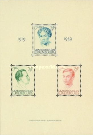 [The 20th Anniversary of the Reign of Grand Duchess Charlotte, type ]