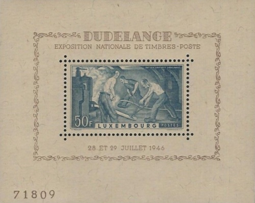 [National Stamps Exhibition, Typ ]