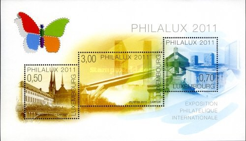 [International Stamp Exhibition PHILALUX 2011 - Luxembourg, Typ ]