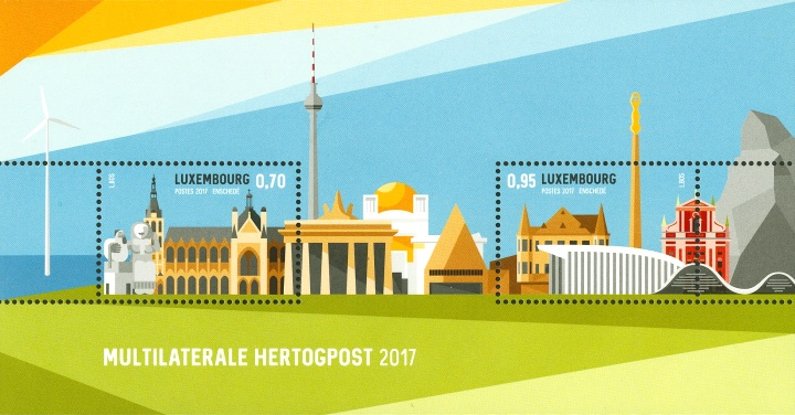 [Multilaterale Stamp Exhibition HERTOGPOST 2017 - 's-Hertogenbosch, Netherlands - Joint Issue with Netherlands, Typ ]