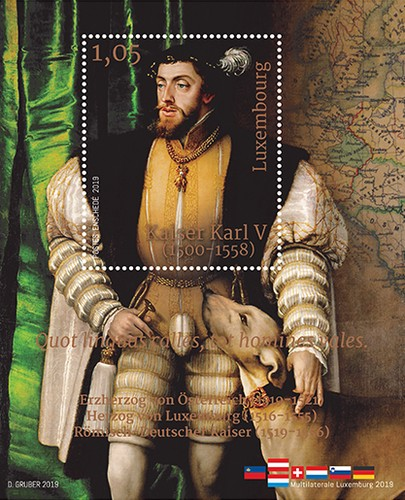 [Emperor Charles V, 1500-1558 - Joint Issue with Austra, Typ ]