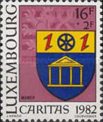 [Town Arms - Caritas Issue, Typ AAU]
