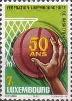 [The 50th Anniversary of the Luxembourg Basketball Federation, Typ ABL]