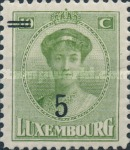 [Grand Duchess Charlotte - Surcharged, type AD]