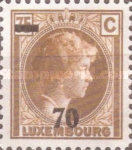[Grand Duchess Charlotte Stamp of 1927 Surcharged, Typ AF27]