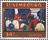 [EUROPA Stamps - Contemporary Art, type AKM]