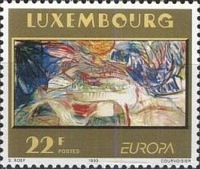[EUROPA Stamps - Contemporary Art, type AKN]